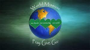 World Mission Sunday Oct 17 and 18