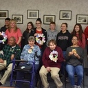 St. Monica's Youth Ministry Spreads Easter Joy
