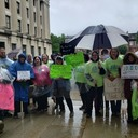 DPD Rallies for a Living Wage