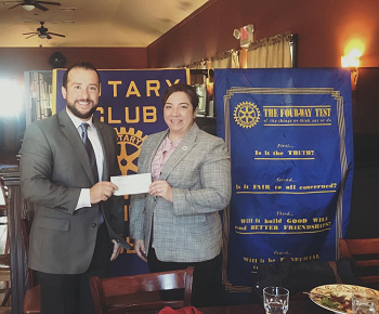 Rotary Club Chooses DPD as their Nonprofit of the Month