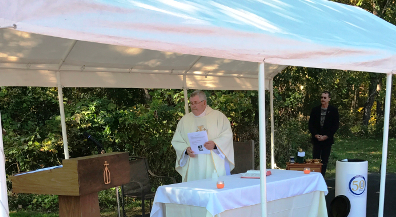 Outdoor Memorial Mass