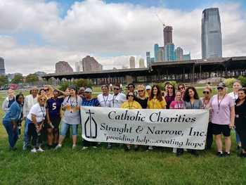 Straight and Narrow Participates in Recovery Walk