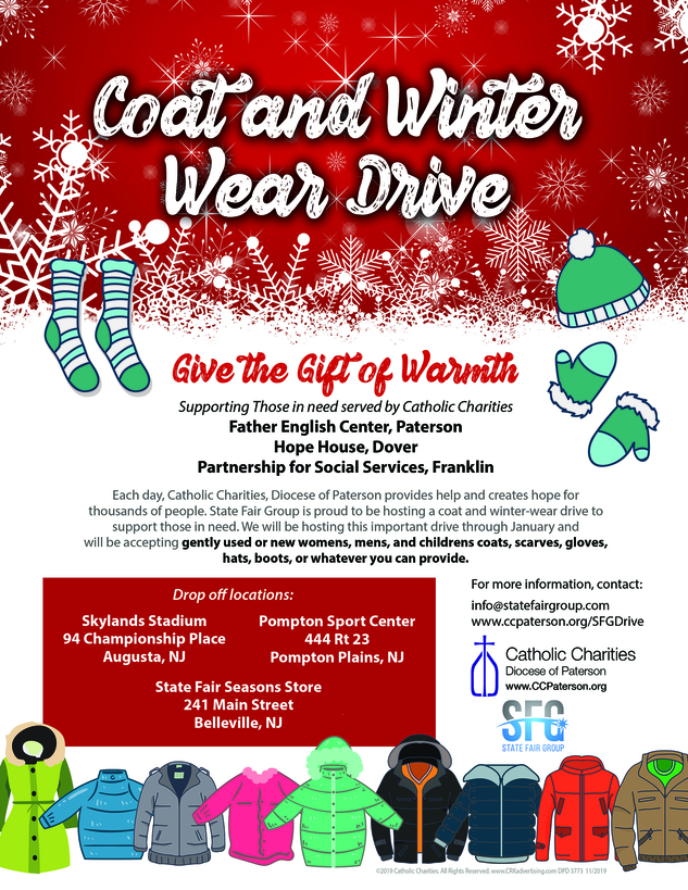 Christmas Coat Drive Flyer
