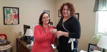Locks of Love Receives Donation from Gruenert Center Client, Jennifer