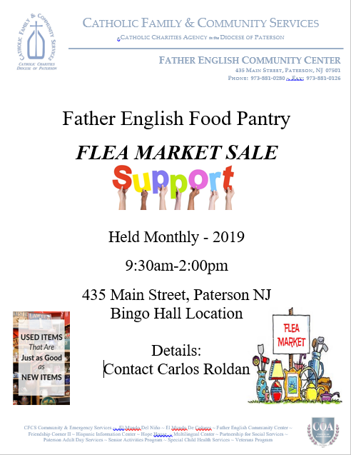 Father English Food Pantry Flea Market