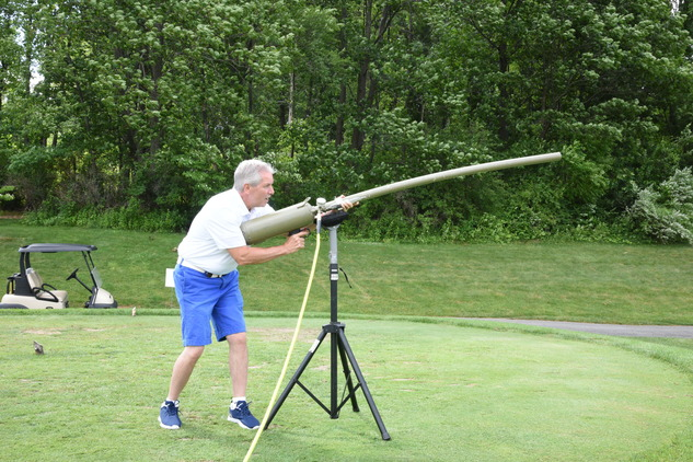 Golf Ball Launcher - Wiegand