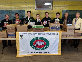 St. Joseph's, Montvale - UNICO Chapter Makes a Difference