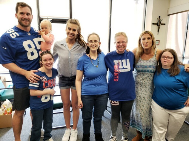 Rhett Ellison NY Giants Service Charity