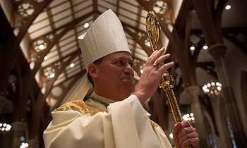 A Christmas Eve Blessing From Bishop Sweeney to Straight and Narrow