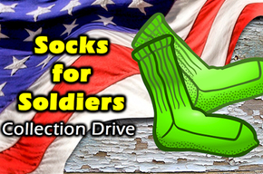 Socks for Soldiers to Benefit Catholic Charities Veterans Programs