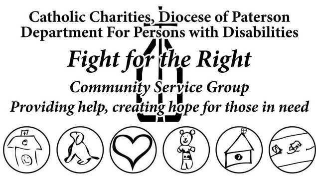 Fight for the Right Catholic Charities Volunteer DPD New Jersey