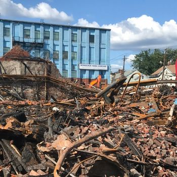 One Year After a Devastating Fire, Straight and Narrow Perseveres On