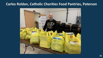 Food Pantry Director, Carlos Roldan featured on Governor Murphy's Daily Briefing (Video)
