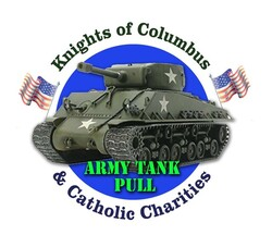 Knights of Columbus Army Tank Pull New Jersey Catholic Charities Veterans Fundraiser