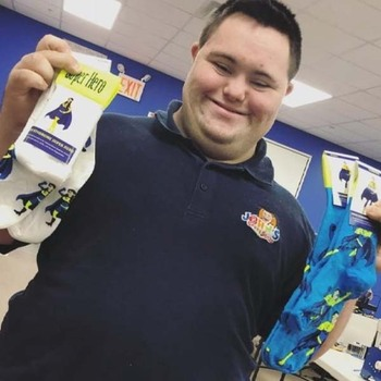 In Honor of World Down Syndrome Day, Catholic Charities Partners with John's Crazy Socks
