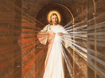Divine Mercy at Holy Family