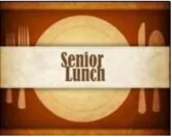 Senior Lunch is Finally Here!