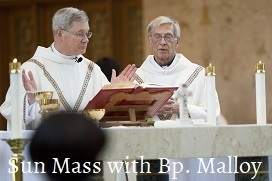 Sun Mass with Bp. Malloy