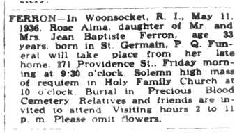 Woonsocket Call May 12, 1936
