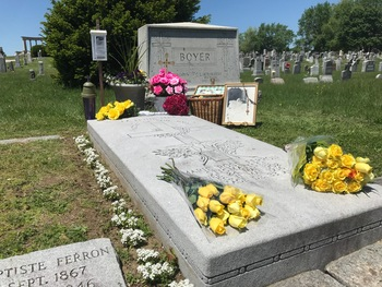 Gravesite Prayers in Honor of Rose's Birthday