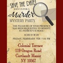 St. Patrick's SPA Murder Mystery Night Fundraiser