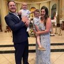 Holy Mother Church Welcomes Sawyer James Rayes Through The Waters Of Baptism