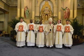 Transitional Deacon Ordination
