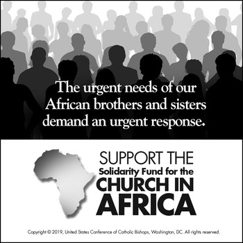2020 Solidarity Fund for the Church in Africa