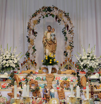 St Joseph Altar at St Joseph Church & Shrine