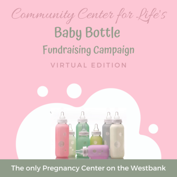 Virtual Baby Bottle Campaign For Community Center For Life