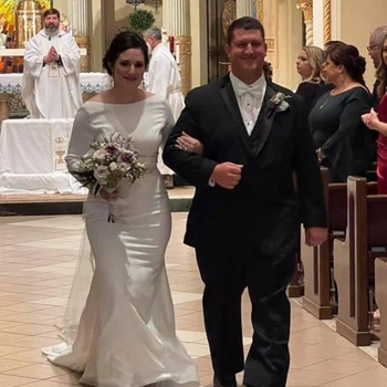 Congratulations To Mr Travis And Best Wishes to Mrs Brooke Guillot On Their Marriage