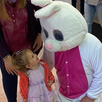 Easter Bunny Shows Up At Shop The Huey