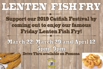 Lenten Fish Fry- Event Date: March 29
