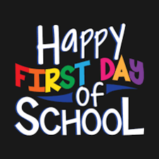 First Day of School - Sept 8th!