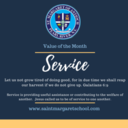 Value of the Month - SERVICE