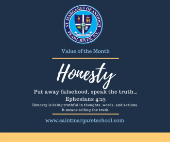 Value of the Month - HONESTY