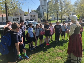 4th grade trip to the Town of Bedford
