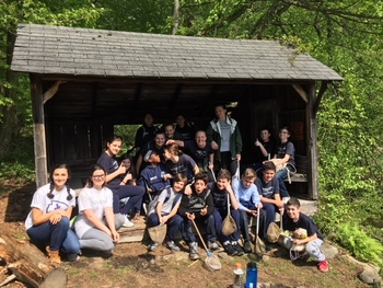 Grade 6 and 7 class trip to Westmoreland Sanctuary