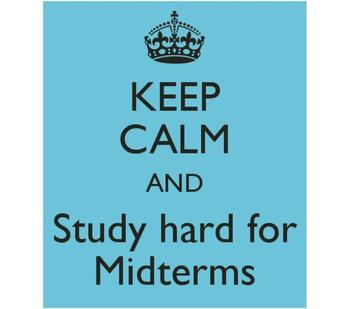 Middle School Mid-Terms Schedule