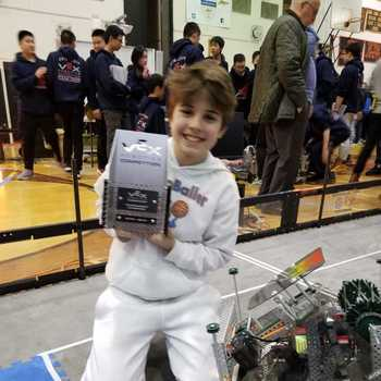 7th grader wins First Place in the Southern New York State Robotics Championship!