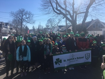 St. Patrick's Day parade and celebrations