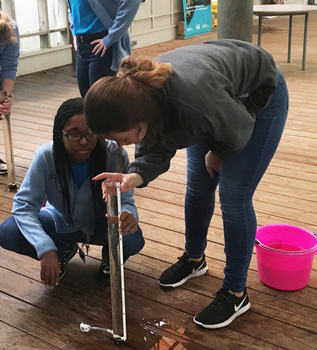 Students Test Water Quality