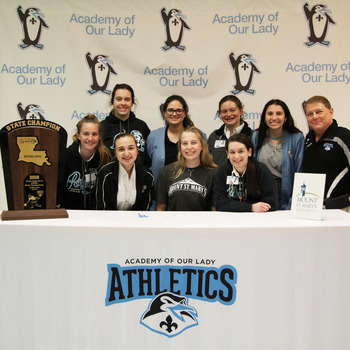 Erin Burkart Signs to Mount St. Mary's University