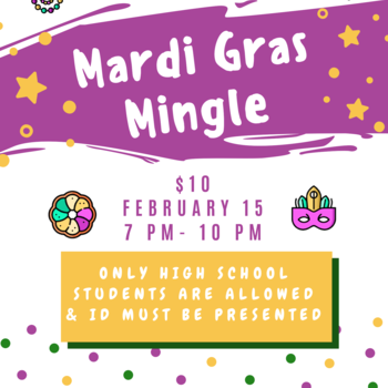 Mardi Gras Mingle