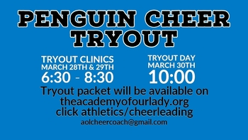 Penguin Cheer Tryouts