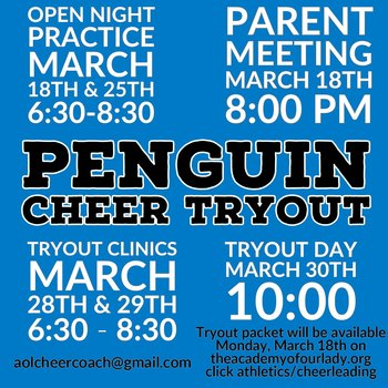 AOL Cheer Tryouts