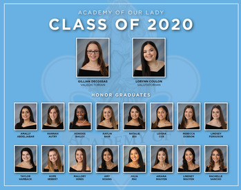 Class of 2020 Honor Graduates