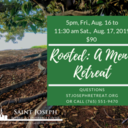 Two Retreats for Catholic Men this August