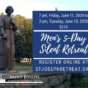 Men's Five Day Silent Retreat, $315