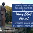 Men's Silent Retreat, $170